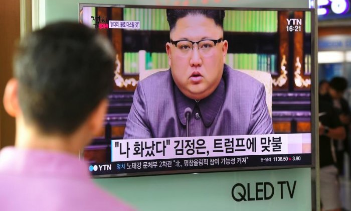 Kim Jong Un says he will tame 'mentally deranged' Trump with fire