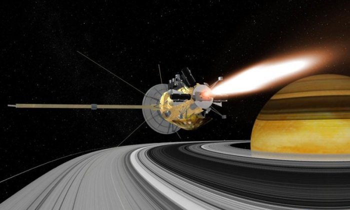 Nasa livestreaming as Cassini probe begins final descent onto Saturn