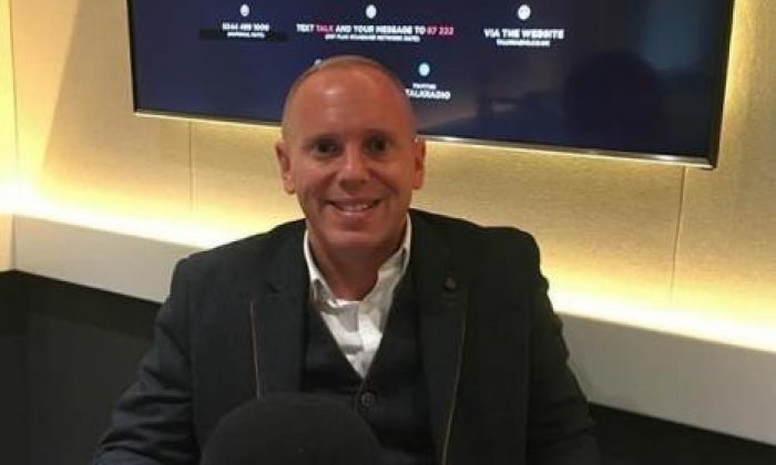 Judge Rinder on his canoe trip through Chester for Stand Up To Cancer and Strictly Come Dancing