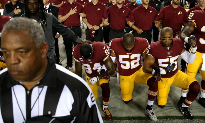 Players from across the country have followed Colin Kaepernick's example