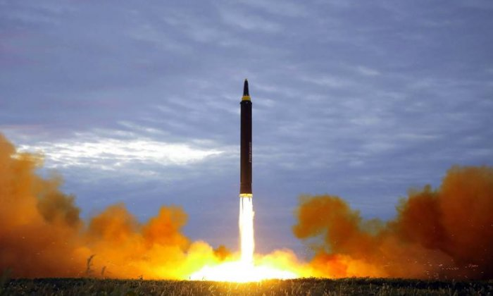 Alejandro Cao de Benos says North Korea's missile launches are designed with peace in mind