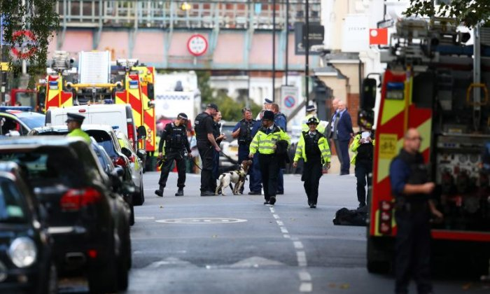 A bomb ripped through Parsons Green tube station on September 15