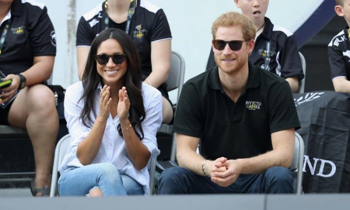 Prince Harry is pictured here with his girlfriend Meghan Markle at the Invictus Games, an event he played a key role in organising