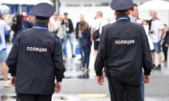 Police in Russia were called to a school this morning