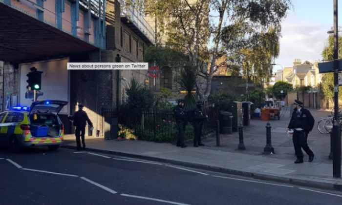 Explosion at Parsons Green tube station causes panic during rush hour