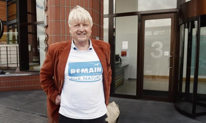 Stanley Johnson said Boris wouldn't care about being sacked for his Brexit article