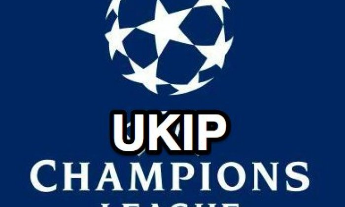UKIP leader happy with new logo despite Premier League 'rip-off' claims