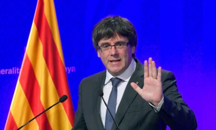Carles Puigdemont is ready to row back from his independence demand, according to Spanish sources