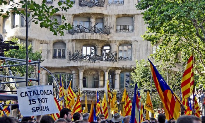 The Catalan independence debate continues to rumble on