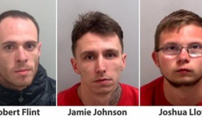 The gang were linked to a series of burglaries through forensic examination work, CCTV and phone analysis