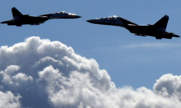 Russian jet crashes on takeoff from Syria airbase