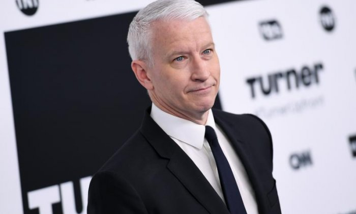 Anderson Cooper rips into Donald Trump for mentioning chief-of-staff's son