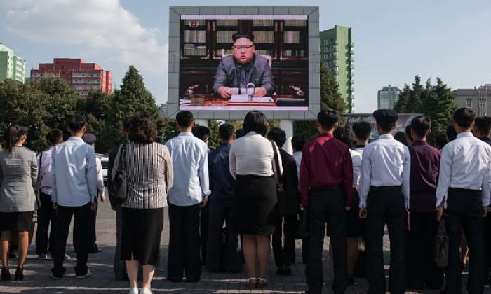 Britain 'preparing battle plan' for a possibility of war with North Korea