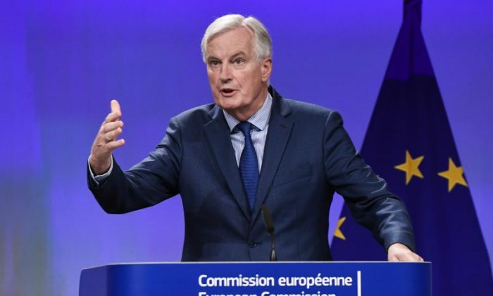 Michel Barnier says Brexit talks have reached a 'state of deadlock'