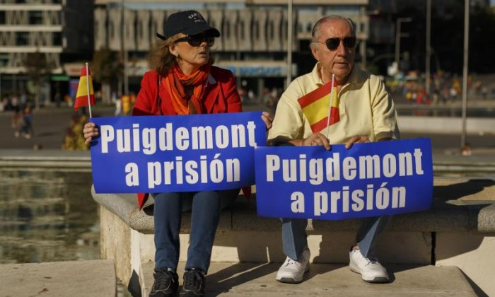 Some called for the Catalan President to be put in prison