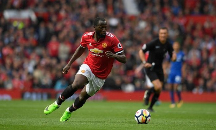 Lukaku was booked by police after several warnings