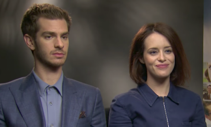 Andrew Garfield and Claire Foy on starring in new film 'Breathe'