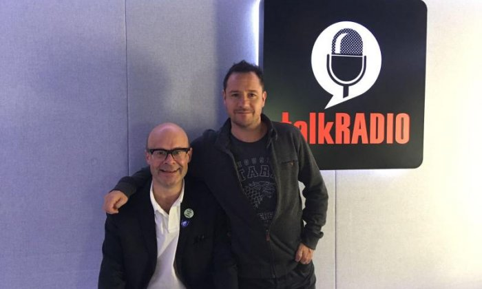 Harry Hill on his new book and his career
