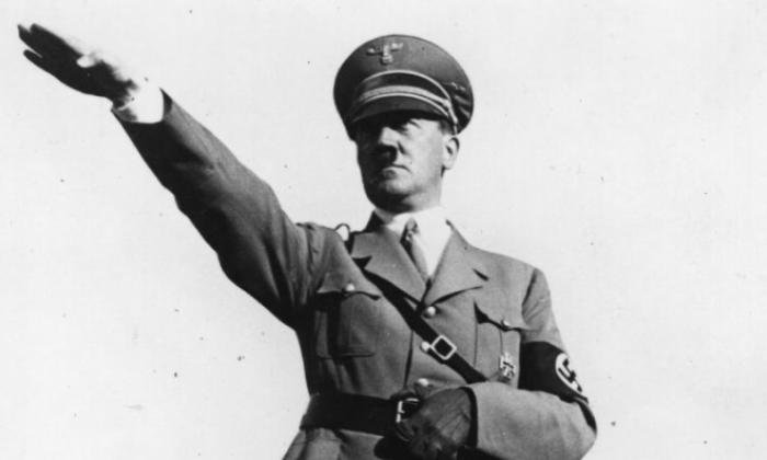 The Hitler banned also displayed the word 'holocaust'