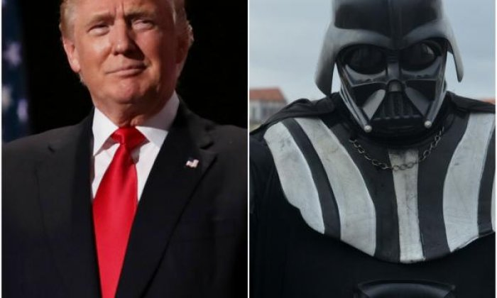 Rufus Hound compares Donald Trump to Darth Vader during chat with caller