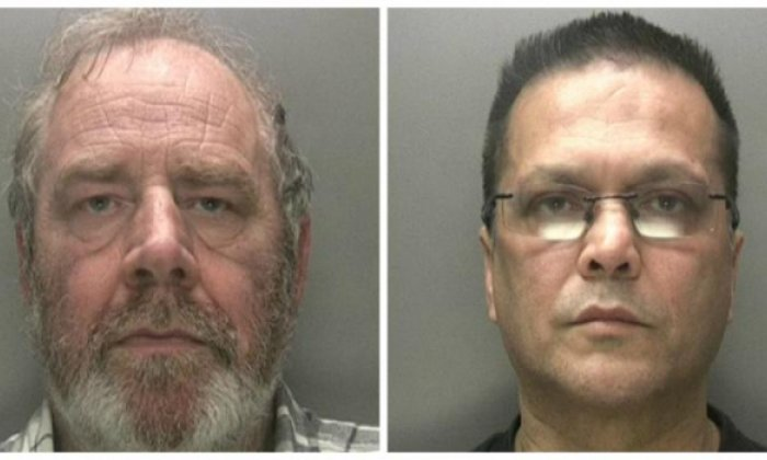 Edmunds (left) and Surdah supplied guns to crime gangs (West Midlands Police)