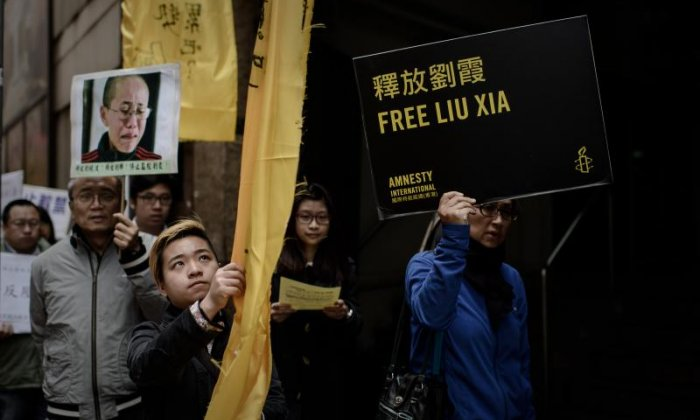 Literary figures sign letter calling for release of widow of Nobel Peace Prize winner