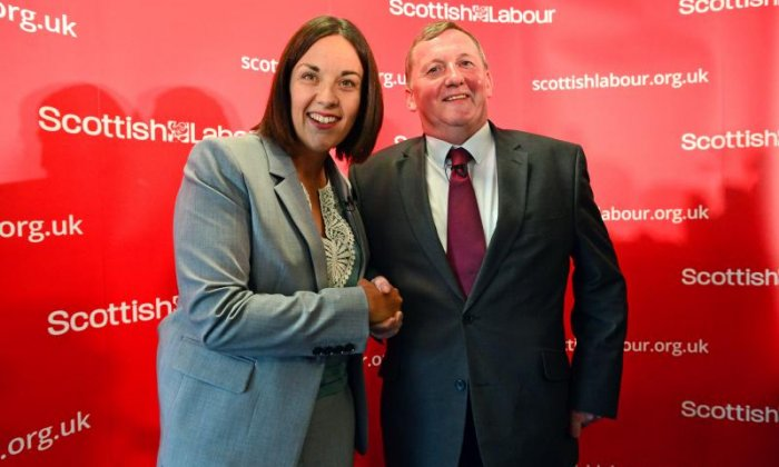 Labour Party leader in Scotland steps down amid abuse claim