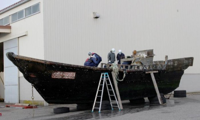 'North Korean ghost ship' washes up in Japan with skeletons on board