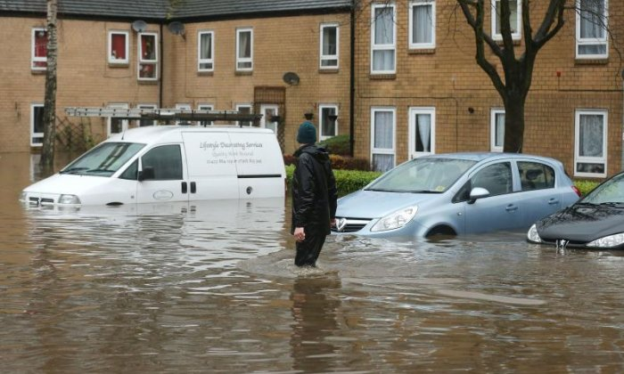 Dozens evacuated in Lancashire after heavy rain causes chaos