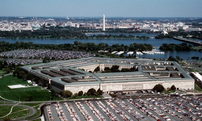 Pentagon says retweet calling for Trump to resign was made in error