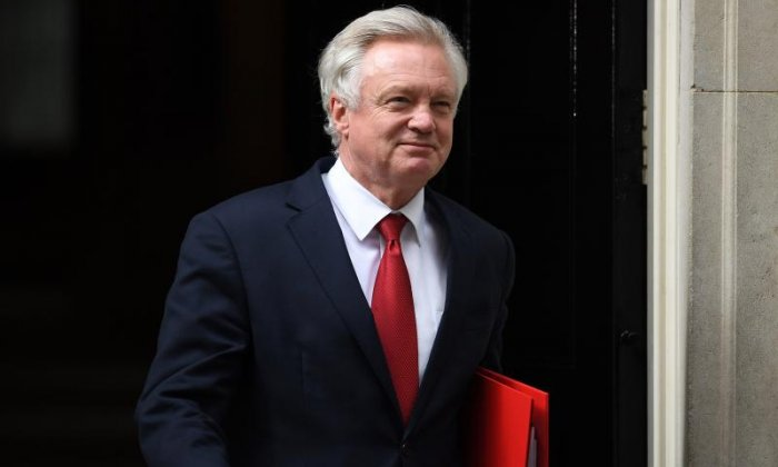 Brexit: David Davis to speak in Germany amid hope of a negotiation deadlock break