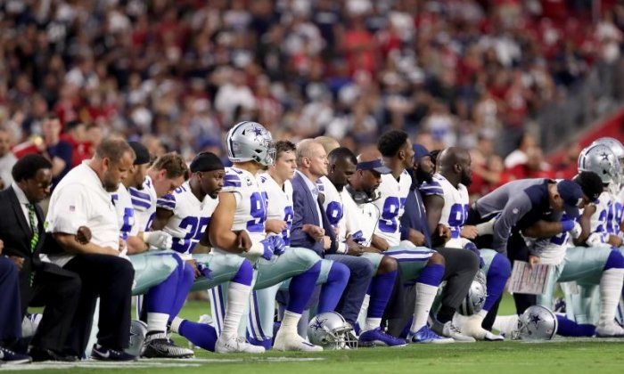 Advert for shooting range accused of racism for 'referencing NFL protest'