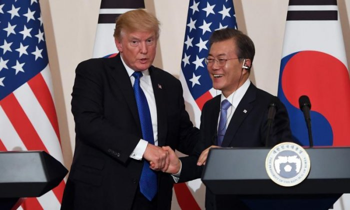 Forget burgers, Donald Trump's meal in Seoul includes 360-year-old soy sauce