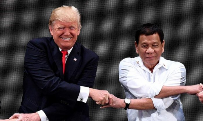 Could President Duterte's choice of song for Donald Trump have been better?