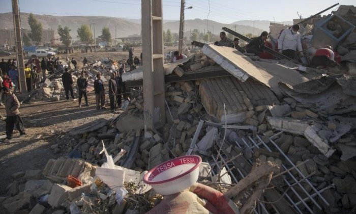 An earthquake has hit Iran and Iraq