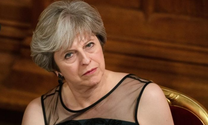 'We know what you're doing' - Theresa May accuses Vladimir Putin of spreading fake news and meddling in Western elections