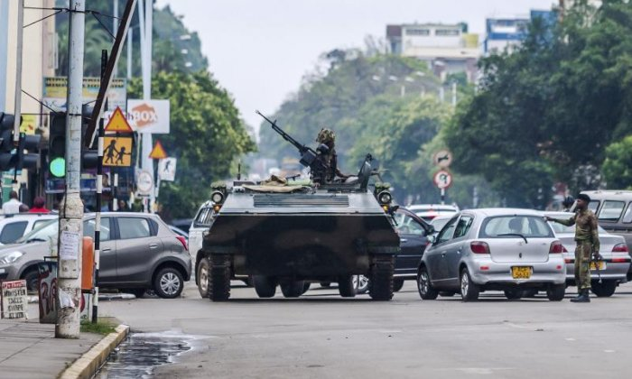 Zimbabwe events 'a coup in all but name', says former ambassador