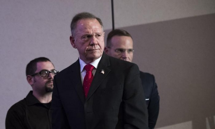 Donald Trump appears to support Roy Moore in Alabama Senate seat despite sexual misconduct allegations