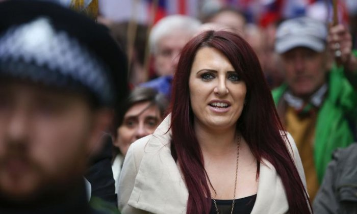 Jayda Fransen said she was delighted with the endorsement of Donald Trump