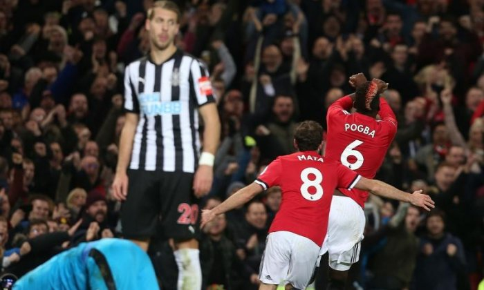 Paul Pogba's Manchester United goal celebration - What was it all about?