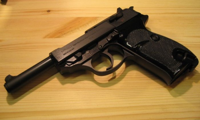 A Walther P38 was among the weapons handed in to police