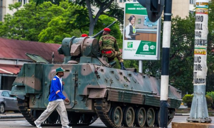 Foreign Office gives advice to British citizens in Zimbabwe as 'coup' unfolds