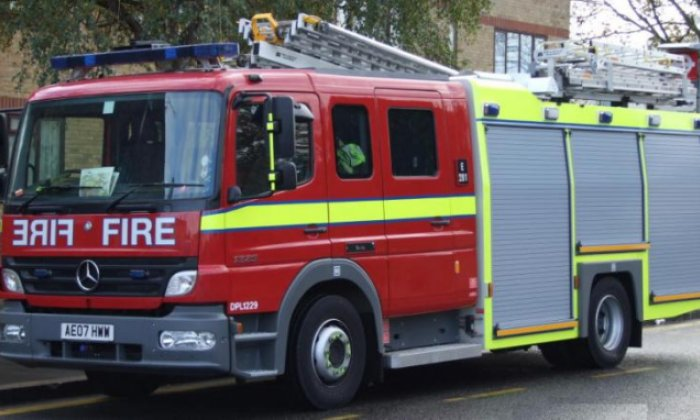 Three taken to hospital after gas explosion destroys house in Leicestershire