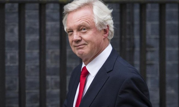 'David Davis looks like a bragging school boy and has made a fool of himself over Brexit impact assessments'