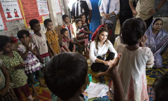 Rohingya people are 'victims of crimes against humanity', says UK aid charity head