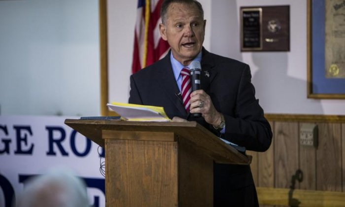 Republican National Convention reportedly gives Roy Moore support after Donald Trump backs him for Alabama senate seat