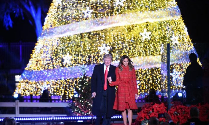 White House 'excludes LGBT and black reporters from media Christmas party'