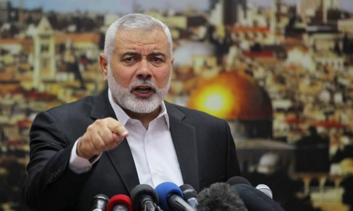 Hamas leader Ismail Haniya calls for new Palestinian intifada after Trump recognises Jerusalem