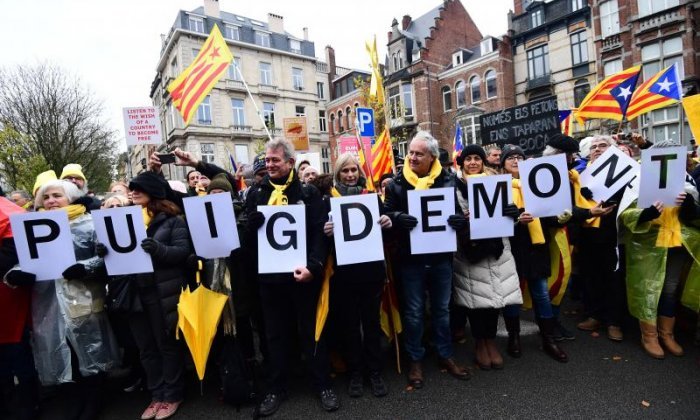 There was strong support for Carles Puigdemont