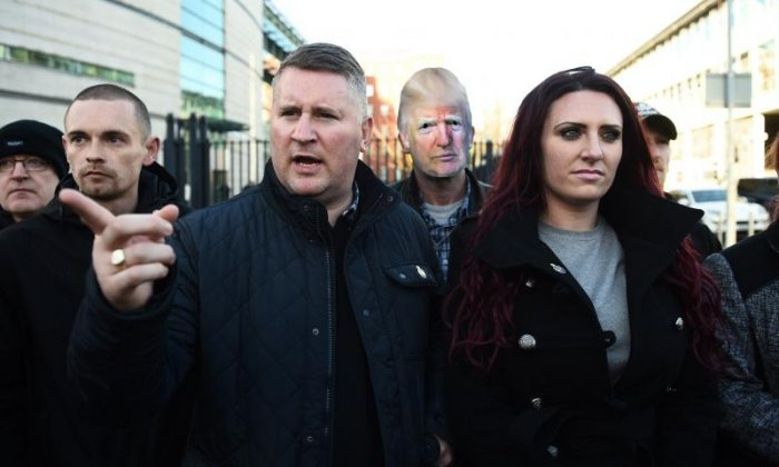 Britain First leaders Paul Golding and Jayda Fransen have Twitter accounts suspended